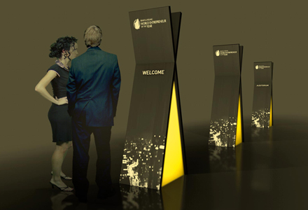 Ernst & Young – Eventsignaletik