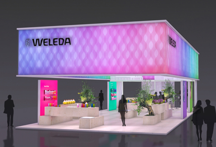 Weleda – Messestand